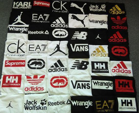 Koszulki z logo Adidas wrangler Nike guess levis gucci Lee puma puma