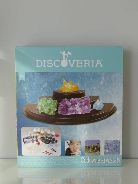 Zestaw do tworzenia kryształów Discoveria - Cudowne kryształy