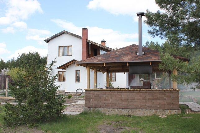 Посуточная аренда двух двухэтажных домов в Студенке(Святогорье)