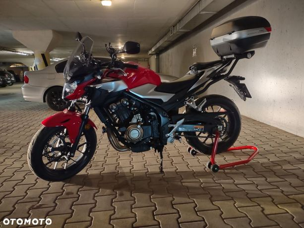 Honda CB Honda CB500F, pierwszy właściciel, salon Polska