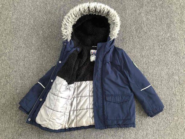 Куртка 6-7р.зима f&f, куртка 116-122р