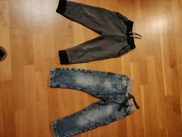 Spodnie chłopięce w rozmiarze 98