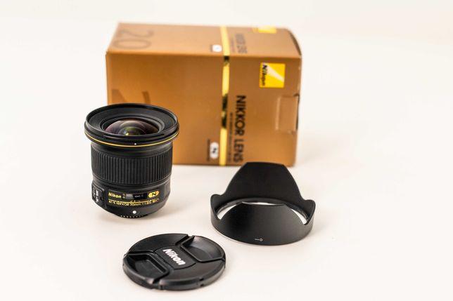 Obiektyw Nikkor 20mm AF-S f/1.8G ED NIKON