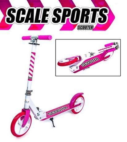 Двухколесный самокат Складной Scooter 460 Pink. АКЦИЯ! (H8y9s)
