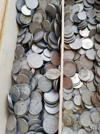Monety polskie kolekcjonerskie stare duża ilość