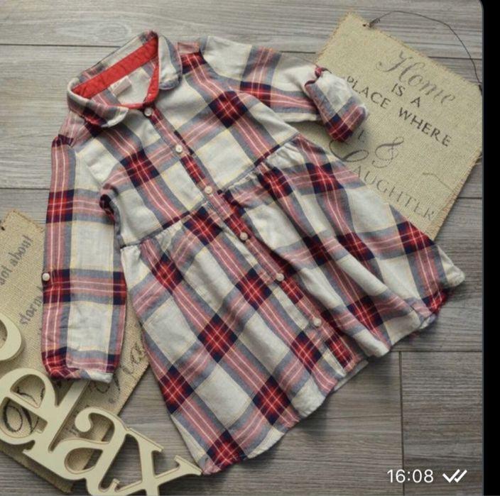 Платье рубашка, H&M, туника Красноармейск - изображение 1