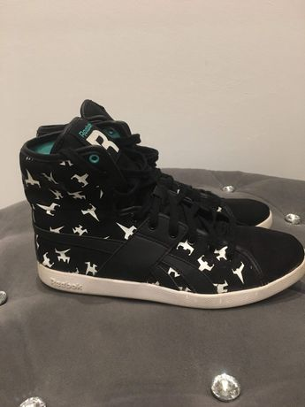 Buty czarne reebok