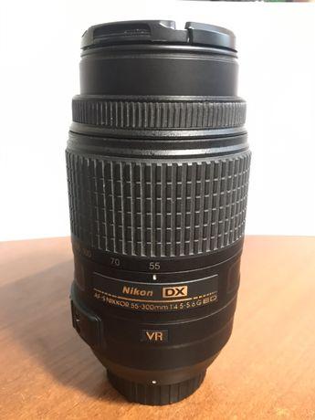 Продам объектив NIKKOR LENS AF-S DX NIKKOR 55-300mm f/4,5-5,6G ED VR.
