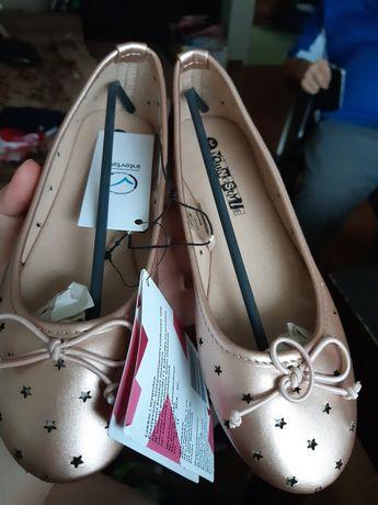 Nowe balerinki dziewczęce