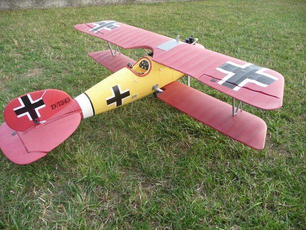 Samolot RC Albatros Dynam + Bateria zasilająca   Gotowy do lotu