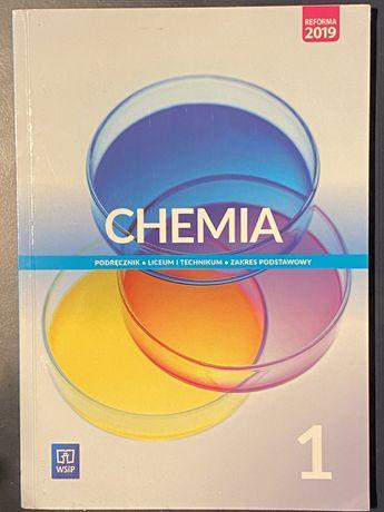 Podręcznik Chemia WSiP zakres podstawowy dla klas 1 liceum/technikum