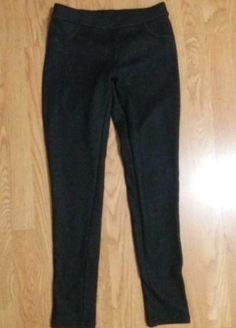 Ciepłe legginsy młodzieżowe