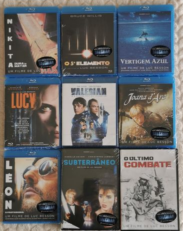 Blu Ray -filmes (16x8 fotos).