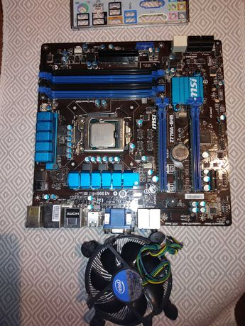 Intel i5-3570K + MSI Z77A-G45 + 4x4GB DDR3 Genesis