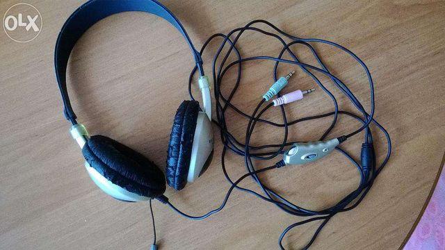 Słuchawki z mikrofonem Media-tech