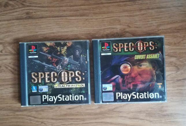 Spec Ops Patrol & Spec Ops Assault Psx PAL Ang
