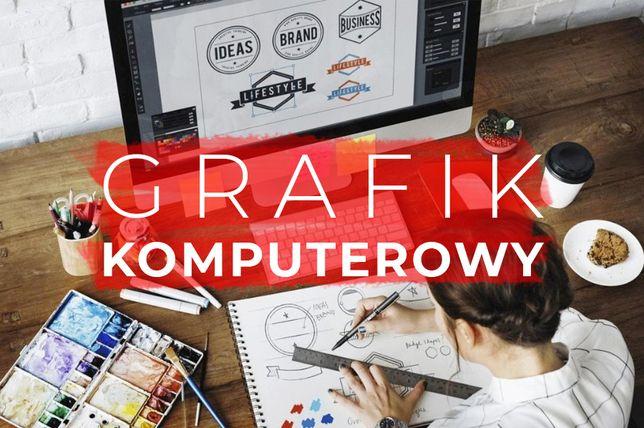 GRAFIK Komputerowy | Darmowa wycena projektów!