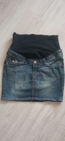 Spódnica ciążowa H&M mama S dżinsowa
