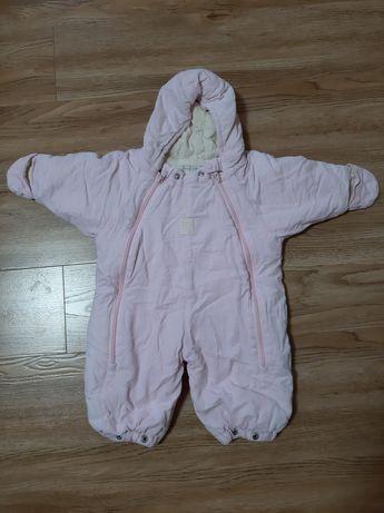 Детский комбинезон на холодную осень 62- 68см