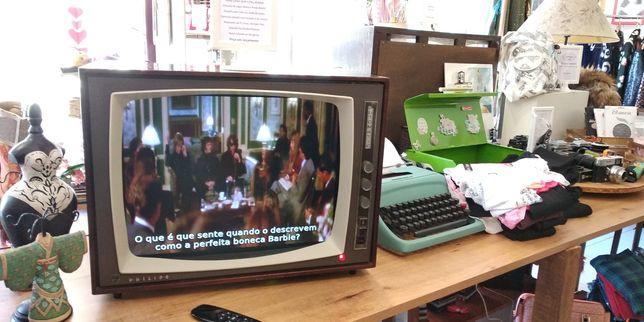 TV Vintage multimédia, conversão de televisão antiga