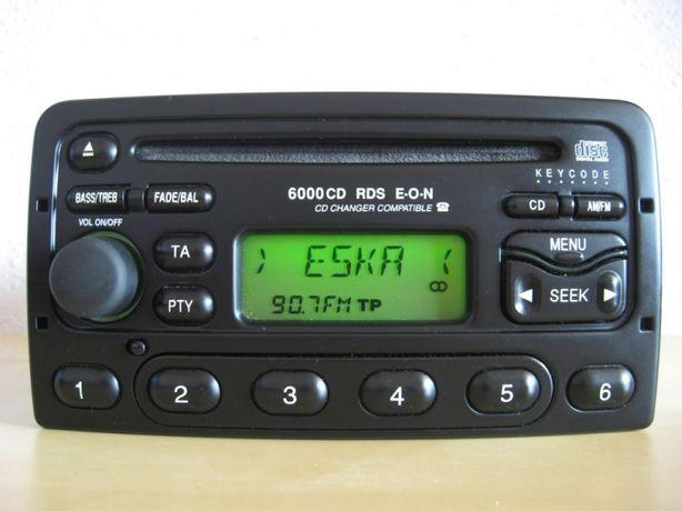 Radio 4000, 5000, 6000 CD Ford Transit FOCUS MONDEO FIESTA+KOD