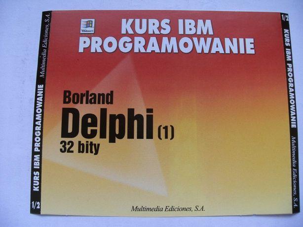 Dolna wkładka do pudełka na płytę CD: Kurs IBM programowanie cz. 1