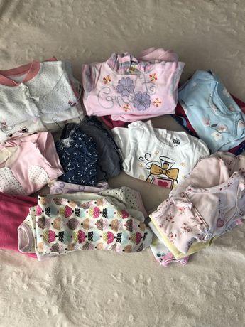 Одяг для дівчинки 0-12 місяців