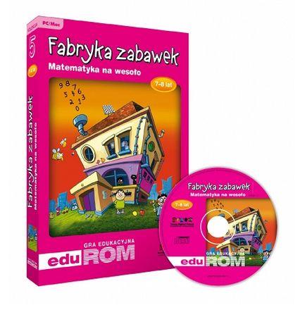 Nowa gra edukacyjna Matematyka na wesoło 7-8 lat Fabryka zabawek