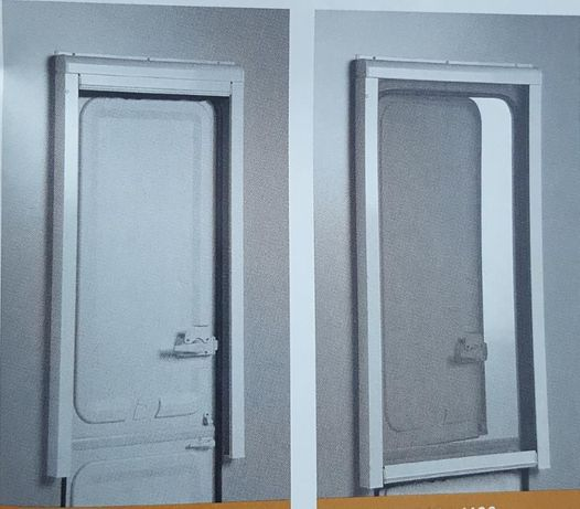 Autocaravana ou Caravana - Cortina (meia porta) mosquiteira