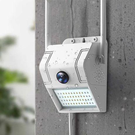 Беспровдная вулична Ip-камера-прожектор 2 в 1 MARSHAL домофон