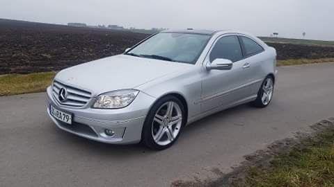 Mercedes CLC wynajem najem wynajm