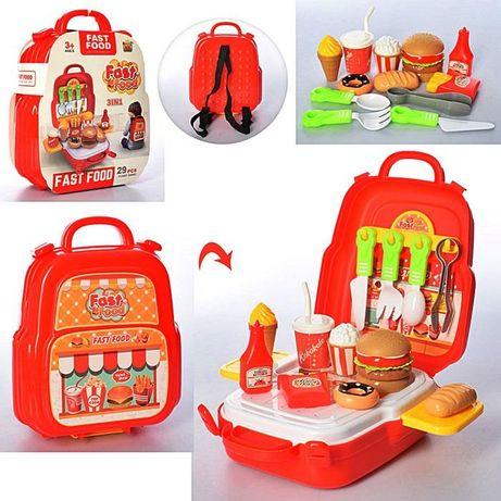 Продукты фаст фуд,сладости, в рюкзаке,29 предметов,кухня 689-10,кухні