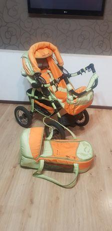 Продам коляску недорого для ребёнка с рождения))