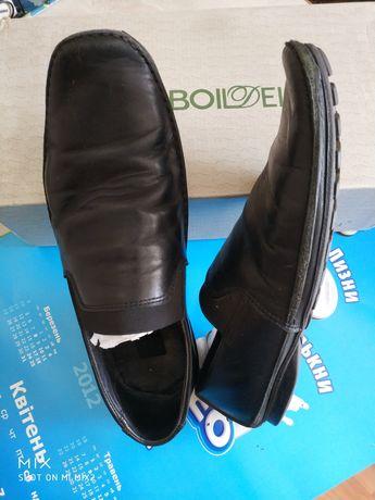 Туфли , кожа 42-43 р