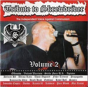 Skrewdriver - Tribute To Skrewdriver volume 2 CD Kolovrat Max Resist