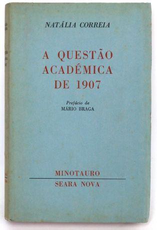 a questão académica 1907 Natália Correia, Minotauro, 1962, 12,5*19cm