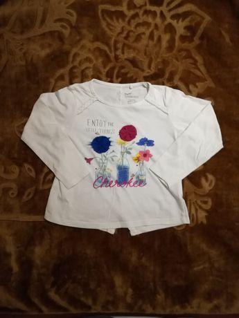 Bluzka bluzeczka dla dziewczynki r. 116 Lupilu