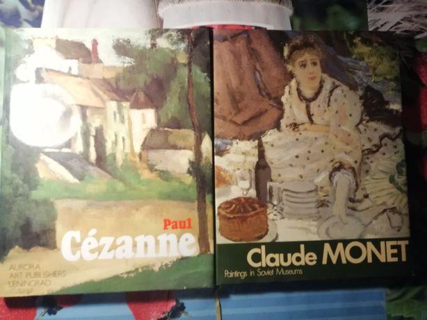 Paul Cezanne, Claude Monet