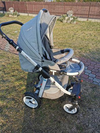 Wózek Riko Nano Grey 3w1 szary