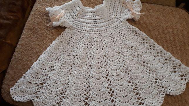 Шикарное платье для крещения и праздника.