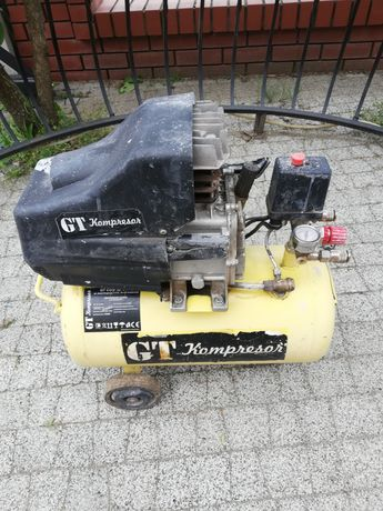 Kompresor olejowy zbiornik 24 litry