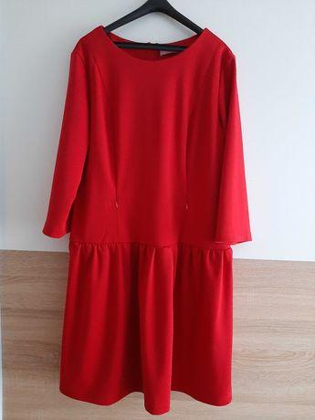 Elegancka sukienka do karmienia/ciążowa tulka
