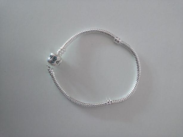 Bransoletka Pandora srebrna