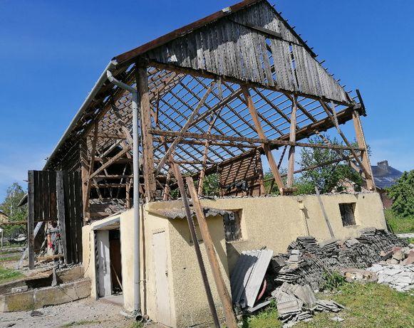 Rozbiórka rozbiórki stodół wymiana desek na nowe skup desek stodół