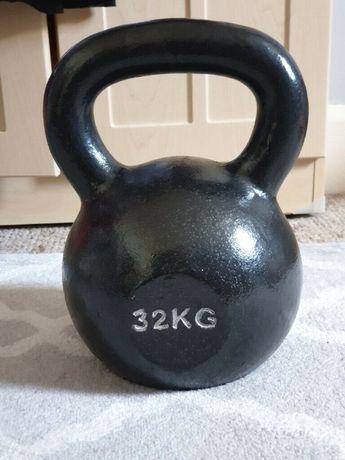 Kettlebell 32 kg Obciążenie kulowe