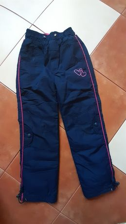 Spodnie oceplane 122/128