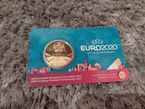 Moeda 2,5€ BNC Euro 2020