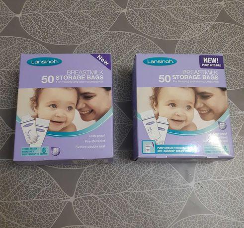 Пакеты Lansinoh (упаковка 50 шт) для замораживания грудного молока