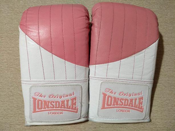Перчатки для бокса и единоборств LONSDALE кожаные женские