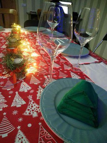Скатерти новогодние и рождественские